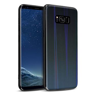 Avizar Coque Noir Collection Aurora pour Samsung Galaxy S8 pas cher