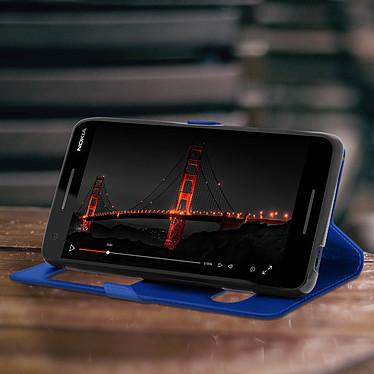 Avis Avizar Etui folio Bleu pour Nokia 2.1