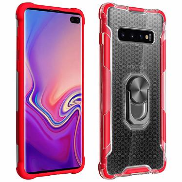 Avizar Coque Rouge Hybride pour Samsung Galaxy S10 Plus Coque Rouge hybride Samsung Galaxy S10 Plus