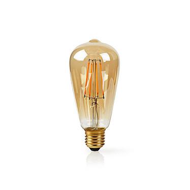 Nedis Ampoule connectée LED Wi-Fi E27 ST64 5 W 500 lm