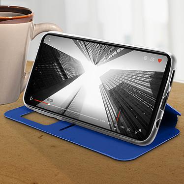 Avis Avizar Etui folio Bleu pour Huawei P30 Lite , Honor 20S , Huawei P30 Lite XL