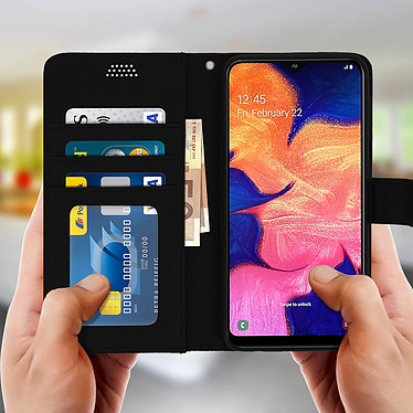 Acheter Avizar Etui folio Noir pour Samsung Galaxy A10
