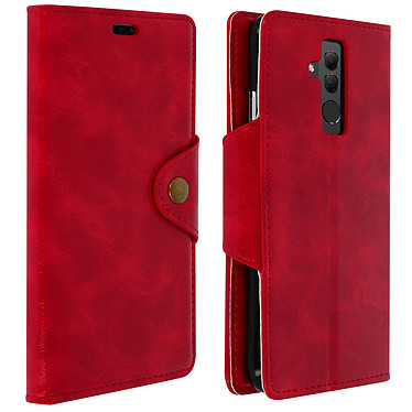 Avizar Etui folio Rouge Sixties pour Huawei Mate 20 Lite Etui folio Rouge série Siexties Huawei Mate 20 Lite