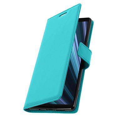 Avizar Etui folio Turquoise pour Sony Xperia 1 pas cher