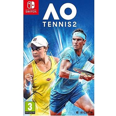 AO Tennis 2 (SWITCH) Jeu SWITCH Sport 3 ans et plus