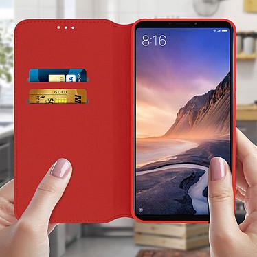 Acheter Avizar Etui folio Rouge pour Xiaomi Mi Max 3