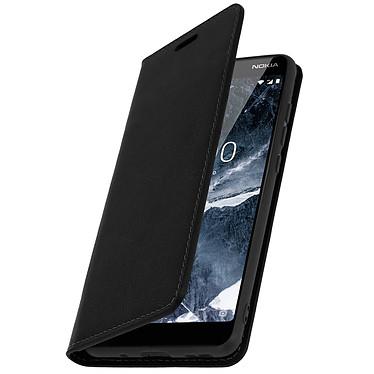 Avizar Etui folio Noir pour Nokia 5.1 pas cher