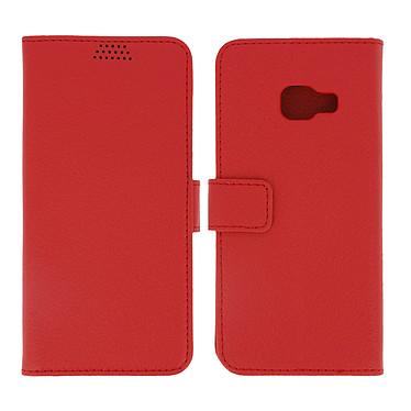 Avizar Etui folio Rouge pour Samsung Galaxy A3 2017 pas cher