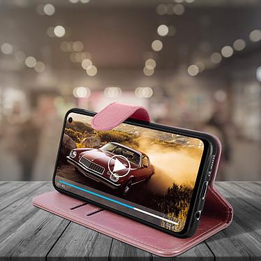 Avis Avizar Etui folio Rose Champagne pour Samsung Galaxy A30