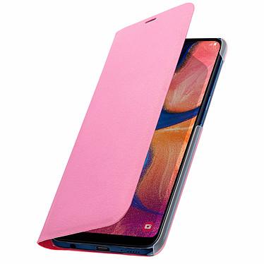 Avizar Etui folio Rose Portefeuille pour Samsung Galaxy A20e pas cher