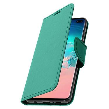Avizar Etui folio Vert pour Samsung Galaxy S10 Plus pas cher