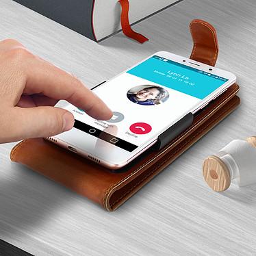 Acheter Avizar Etui à clapet Camel pour Compatibles avec Smartphones de 5,3 à 5,5 pouces