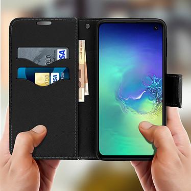 Acheter Avizar Etui folio Dorée Fancy Style pour Samsung Galaxy S10e