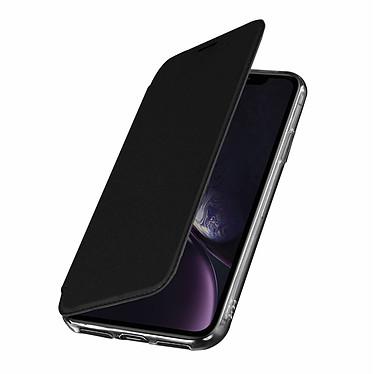 Avizar Etui folio Noir Miroir pour Apple iPhone XR Etui folio Noir miroir intégré Apple iPhone XR
