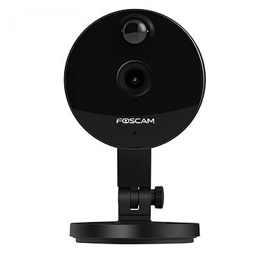 Foscam Caméra Ip C1 Noire Hd Grand Angle Vision Nocturne Wifi FIC1BLACK pas cher