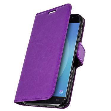 Avizar Etui folio Violet pour Samsung Galaxy J3 2017 Etui folio Violet Samsung Galaxy J3 2017