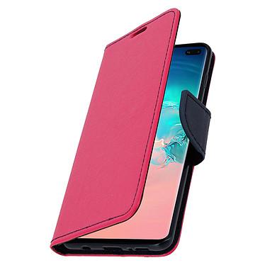 Avizar Etui folio Fuchsia pour Samsung Galaxy S10 Plus pas cher