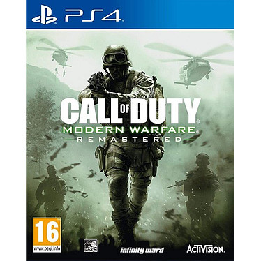 Call of Duty Modern Warfare Remastered (PS4) Jeu PS4 FPS 16 ans et plus