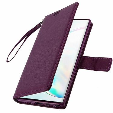 Avizar Etui folio Violet pour Samsung Galaxy Note 10 Plus pas cher