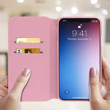 Acheter Avizar Etui folio Rose Champagne Portefeuille pour Apple iPhone 11 Pro