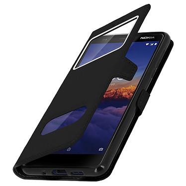 Avizar Etui folio Noir pour Nokia 3.1 pas cher