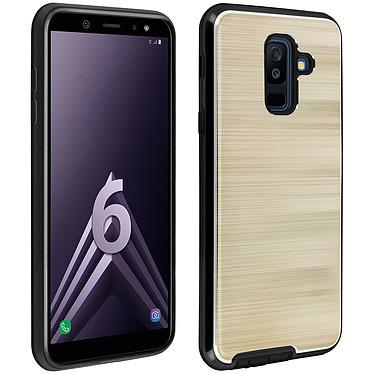 Avizar Coque Dorée Hybride pour Samsung Galaxy A6 Plus Coque Dorée Samsung hybride Galaxy A6 Plus