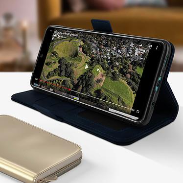 Avis Avizar Etui folio Bleu Nuit pour Samsung Galaxy A71