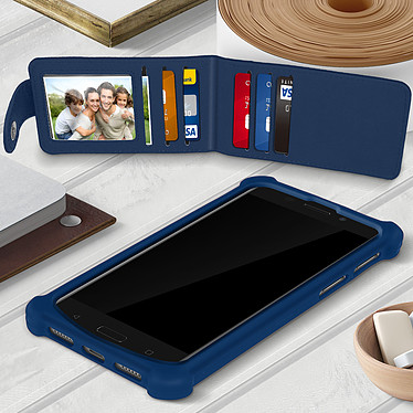 Acheter Avizar Coque Bleu Nuit pour Compatibles avec Smartphones de 5,3 à 5,5 pouces