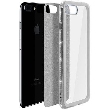 Avis Avizar Coque Argent pour Apple iPhone 7 Plus , Apple iPhone 8 Plus