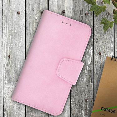 Avis Avizar Etui folio Rose pour Tous les smartphones jusqu'à 5,5 pouces