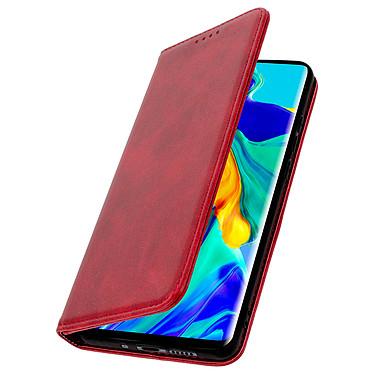 Avizar Etui folio Rouge Portefeuille pour Huawei P30 Pro pas cher