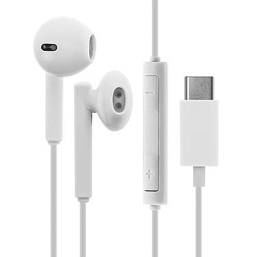 Avizar Ecouteurs Blanc pour Tous les Appareils avec connectique Audio USB Type C pas cher