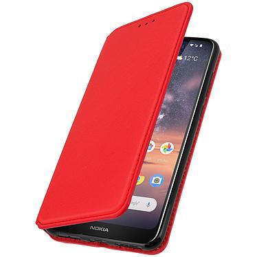 Avizar Etui folio Rouge pour Nokia 3.2 pas cher