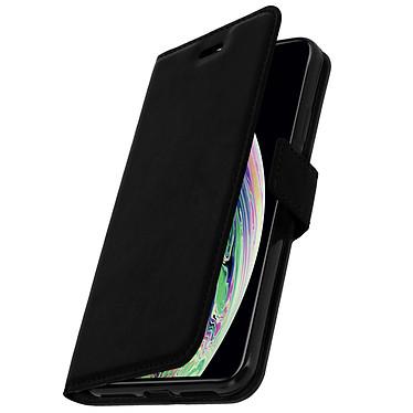 Avizar Etui folio Noir pour Apple iPhone XS Max pas cher