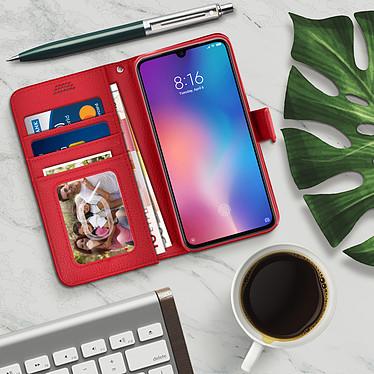 Avis Avizar Etui folio Rouge Éco-cuir pour Xiaomi Mi 9