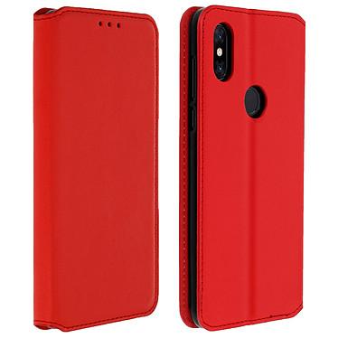 Avizar Etui folio Rouge pour Xiaomi Mi Mix 3 Etui folio Rouge Xiaomi Mi Mix 3