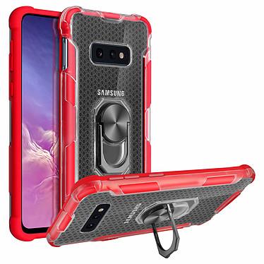 Avizar Coque Rouge Contours Bumper pour Samsung Galaxy S10e pas cher