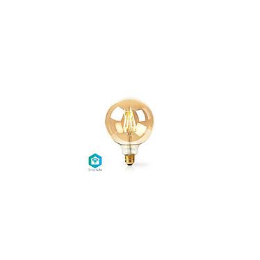 NEDIS Ampoule à Filament LED Intelligente Wi-Fi G125 Ampoule à Filament LED Intelligente Wi-Fi G125
