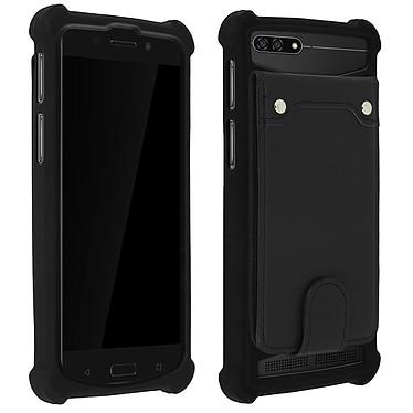 Avizar Coque Noir pour Compatibles avec Smartphones de 5,0 à 5,3 pouces Coque Noir Compatibles avec Smartphones de 5,0 à 5,3 pouces