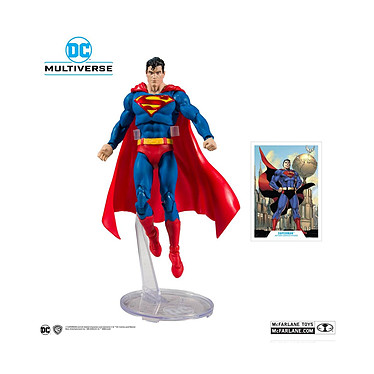 DC Comics - Figurine DC Rebirth Superman (Modern) Action Comics 1000 18 cm Figurine DC Comics, modèle DC Rebirth Superman (Modern) Action Comics 1000 18 cm.