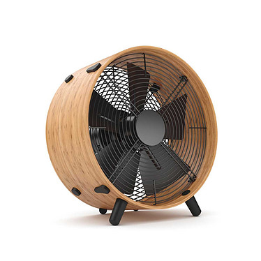 StadlerForm - Ventilateur design OTTO Bambou - Bambou Design très sobre en bambou courbé et vernis deux fois