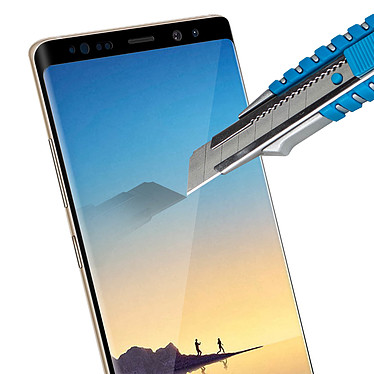 Acheter Avizar Film verre trempé Noir pour Samsung Galaxy Note 8