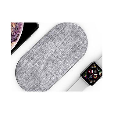 Acheter Cellys Socle de charge induction IPhone 8 / 9 / X/ Xr et iWatch Blanc