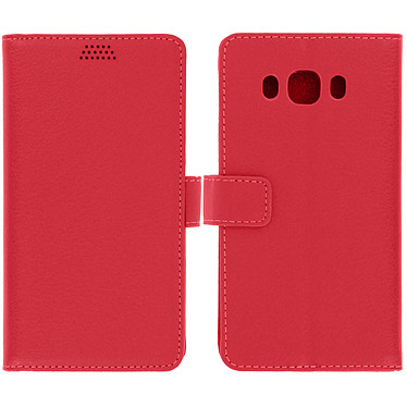 Avizar Etui folio Rouge pour Samsung Galaxy J5 2016 pas cher