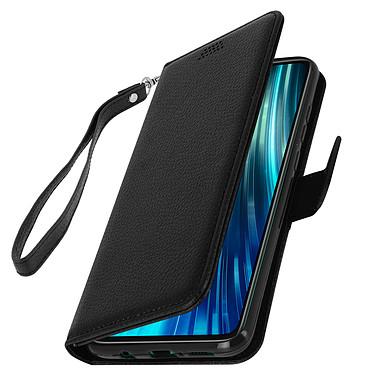 Avizar Etui folio Noir pour Xiaomi Redmi Note 8 Pro pas cher