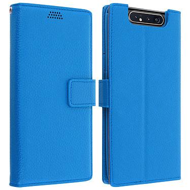 Avizar Etui folio Bleu pour Samsung Galaxy A80 Etui folio Bleu Samsung Galaxy A80