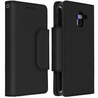 Avizar Etui folio Noir pour Samsung Galaxy J6 Etui folio Noir Samsung Galaxy J6