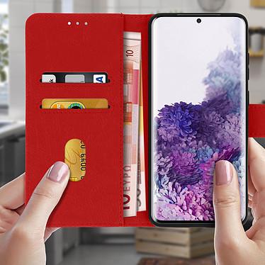 Acheter Avizar Etui folio Rouge pour Samsung Galaxy S20 Plus
