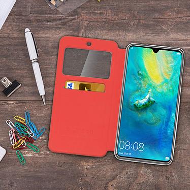 Acheter Avizar Etui folio Rouge Éco-cuir pour Huawei Mate 20