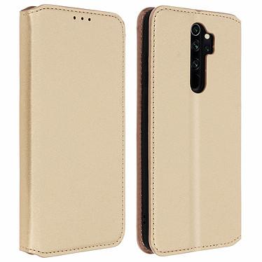 Avizar Etui folio Dorée pour Xiaomi Redmi Note 8 Pro Etui folio Dorée Xiaomi Redmi Note 8 Pro